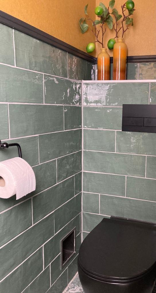 Toilet in de gang beneden
