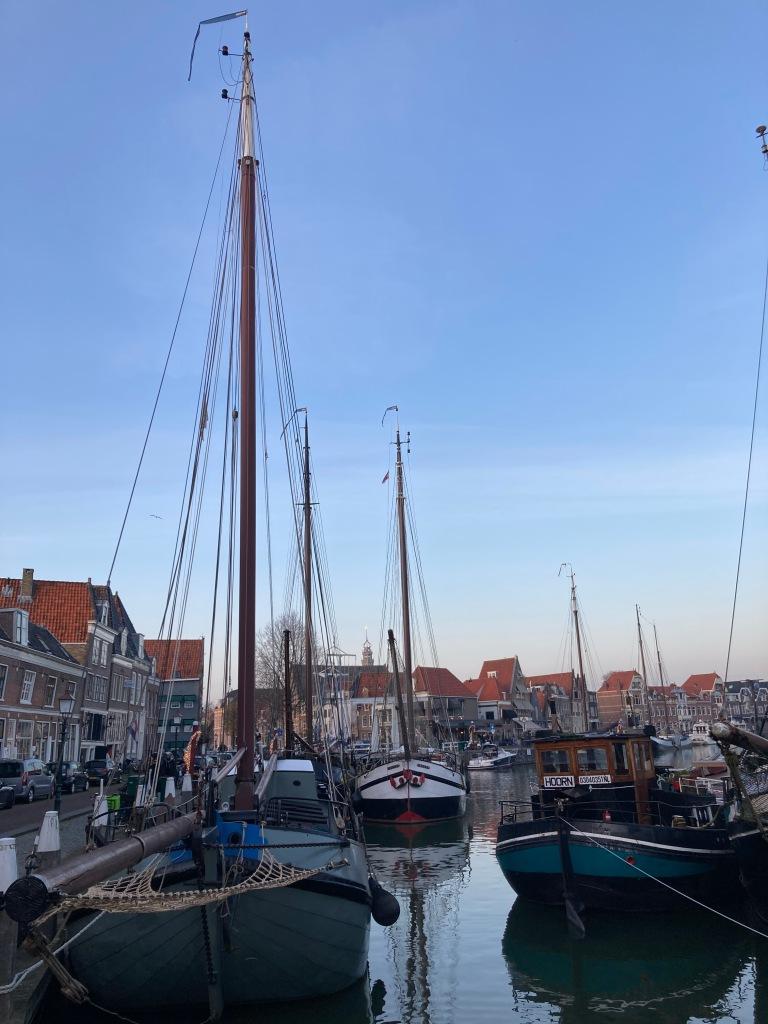 Historische haven met prachtige panden